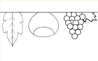Lo stesso cartellone suddiviso in 8 fogli a4 for Addobbi porta autunno