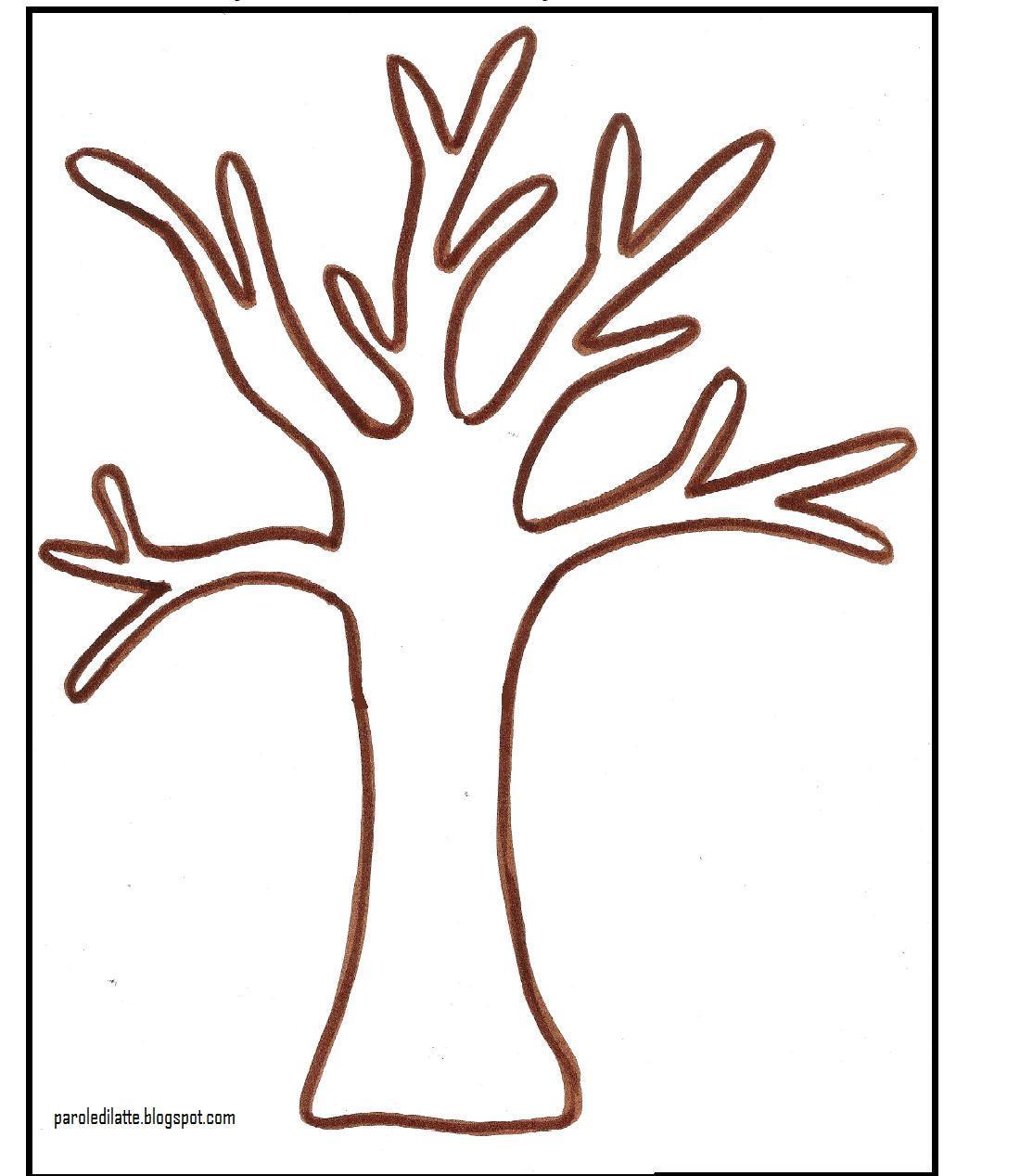 Dal sito paroledilatte for Foto di alberi da colorare