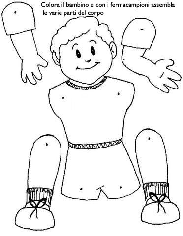 Schema corporeo attività scuola infanzia