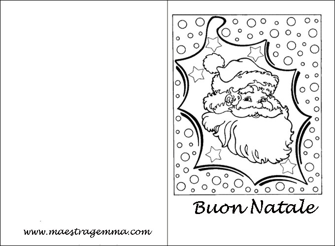 Biglietti di natale in inglese maestra mary disegni di for Lavoretti di natale maestra mary