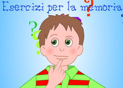 Esercizi per la memoria simpaticissimi esercizi per for Baby flash italiano doppie