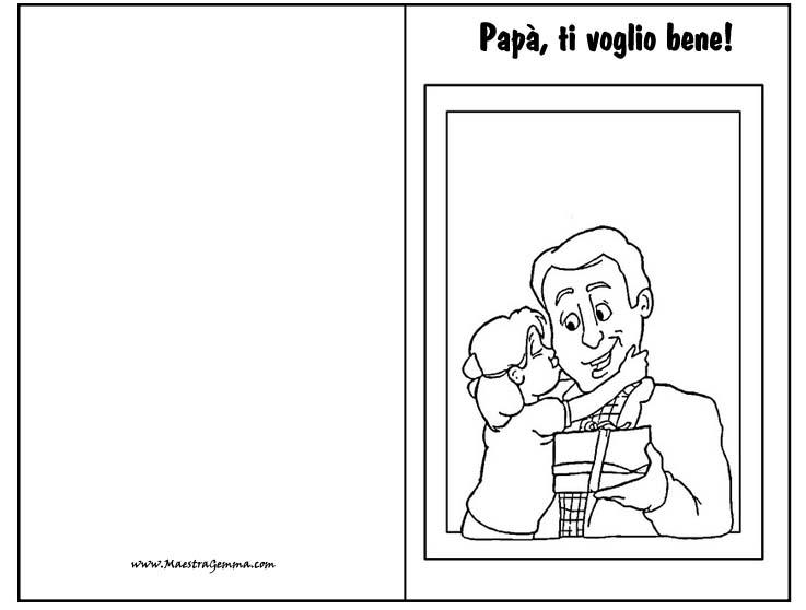 Estremamente Bigliettino Per La Festa Del Papà OT79 » Regardsdefemmes DN04