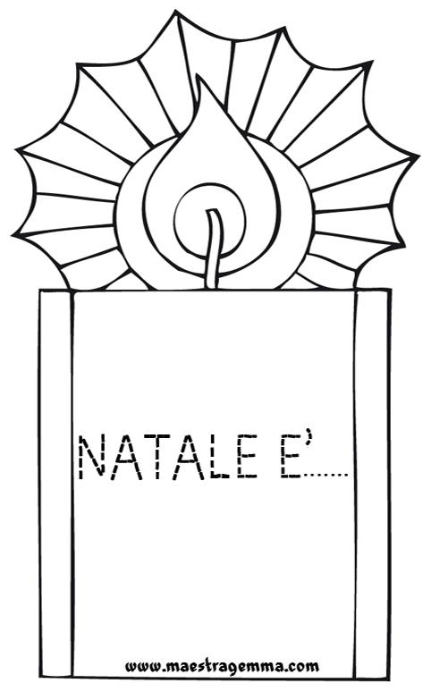 Pregrafismo maestra gemma for Lavoretti di natale maestra mary