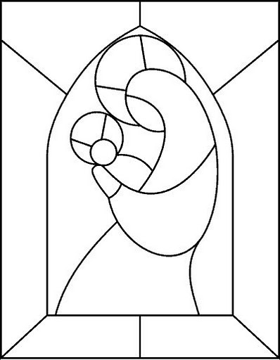 Disegni di vetrate stunning vetrate colorate cavallo with for Disegni vetrate
