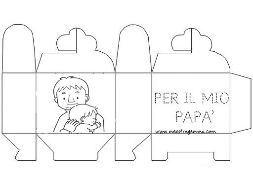 Scatoline festa del pap for Lavoretti maestra gemma