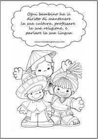 schede didattiche sui diritti dei bambini