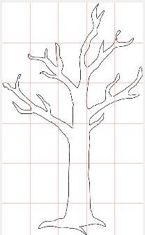 Albero in pdf strutturato su pi pagine ottimo come for Foto di alberi da colorare