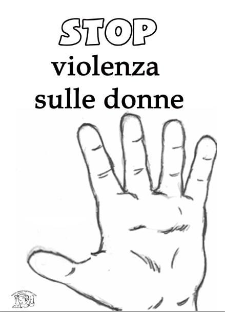 13++ Violenza Donne Disegni